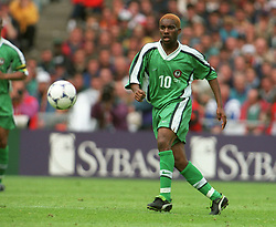 June 13, 1998 - 980613 Augustine Okocha (Jay-Jay Okocha), Nigeria.© Bildbyran - 22701 (Credit Image: © Bildbyran via ZUMA Press)