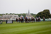 Hippodrome de Chantilly, France. June 12th 2011.Prix de Diane Longines 2011.Prix Longines