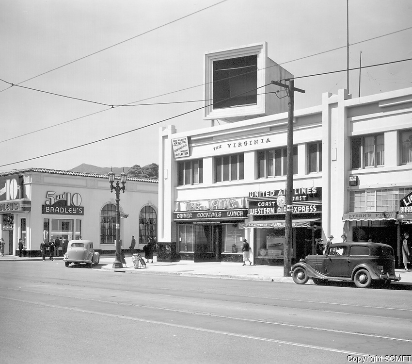 1937 The Jade Restaurant on Hollywood Blvd.