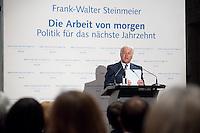 """03 AUG 2009, BERLIN/GERMANY:<br /> Frank-Walter Steinmeier, SPD, Bundesaussenminister und Kanzlerkandidat, Veranstaltung der Karl-Schiller-Stiftung zum Thema """"Die Arbeit von morgen - Politik fuer das naechste Jahrzehnt"""", Baerensaal, Altes Stadthaus<br /> IMAGE: 20090803-02-063<br /> KEYWORDS: Deutschland-Plan, Rede, speech"""