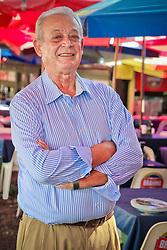 Elson Furini, proprietário da Churrascaria Barranco. FOTO: MARCOS NAGELSTEIN/ AGÊNCIA PREVIEW
