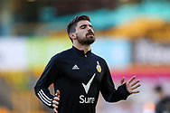Ruben Neves (8) of Wolverhampton Wanderers warms up during the Premier League match between Wolverhampton Wanderers and West Bromwich Albion at Molineux, Wolverhampton, England on 16 January 2021.