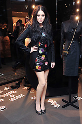 CLAIRE MAGUIRE at a party hosted by InStyle to celebrate the iconic glamour of Dolce & Gabbana held at D&G, 6 Old Bond Street, London on 3rd November 2010.