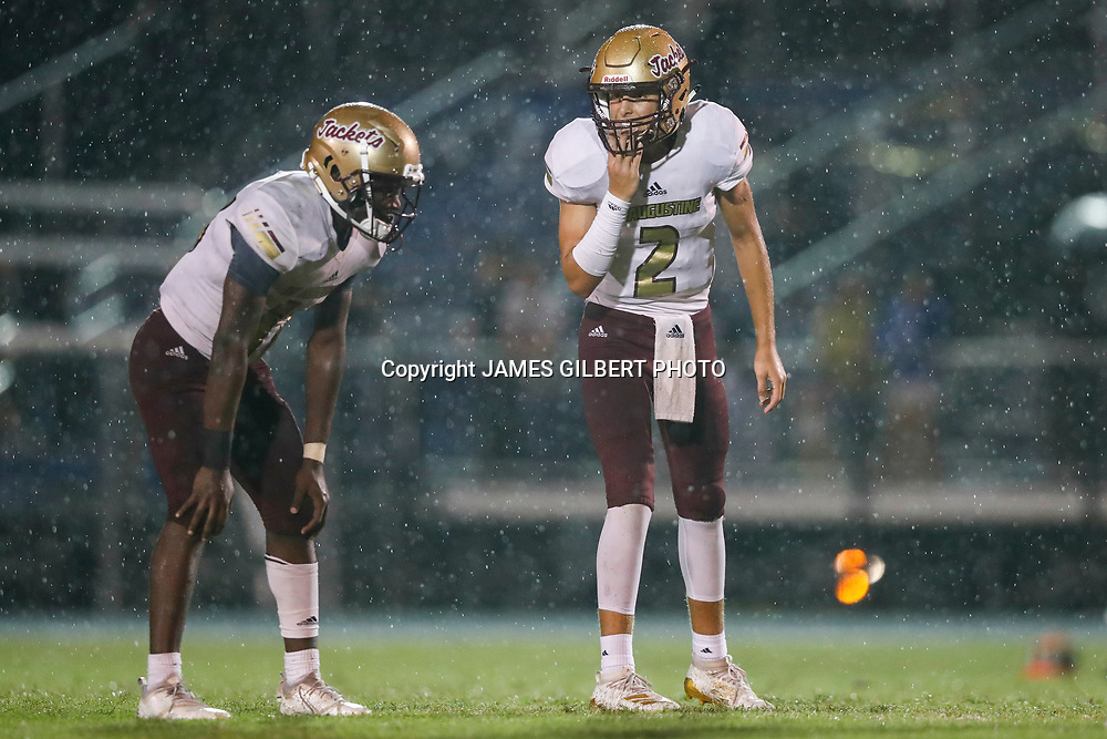 St Augustine V Pedro Menendez in a High school football game in Saint Augustine Florida on Friday August 30, 2019.