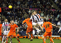 Photo: Rich Eaton.<br /> <br /> West Bromwich Albion v Luton Town. Coca Cola Championship. 12/01/2007. Kevin Phillips of West Brom (centre hidden) scores the winner to make it 3-2 in extra time