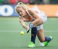 AMSTERDAM - Hockey - Lauren Stam (Neth)    Interland tussen de vrouwen van Nederland en Groot-Brittannië, in de Rabo Super Serie 2016 .  COPYRIGHT KOEN SUYK