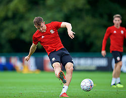 CARDIFF, WALES - Friday, September 7, 2018: Wales' Tom Lockyer during a training session at the Vale Resort ahead of the UEFA Nations League Group Stage League B Group 4 match between Denmark and Wales. (Pic by David Rawcliffe/Propaganda)