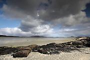 Rocks on Barra Beach, in the Outer Hebrides, Scotland