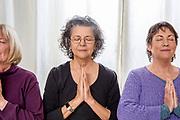 Senior Women Doing Yoga
