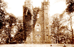 © Licensed to London News Pictures. 18/07/2014. Archive photo of Severndroog - Supplied by Severndroog Castle Building Preservation Trust. An 18th century castle on a hill in south east London is preparing to reopen this weekend following a lengthy, painstaking restoration project. Severndroog Castle in Oxleas Woods on Shooters Hill enjoys stunning views across seven counties on a clear day. The folly has been closed for many years and was in state of disrepair before work started on a restoration project last year. The historic building featured in the BBC series Restoration in 2004. The reopening takes place on Sunday July 20th - more information about the castle and the reopening available fron the Severndroog Castle Building Presevation Trust. http://www.severndroogcastle.org.uk/index.html Credit : Rob Powell/LNP