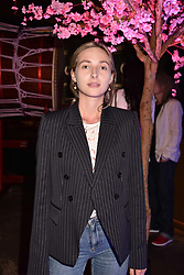 Dylan Weller at the launch of Nobu Hotel London Shoreditch,10-50 Willow Street, London, England. 15 May 2018.