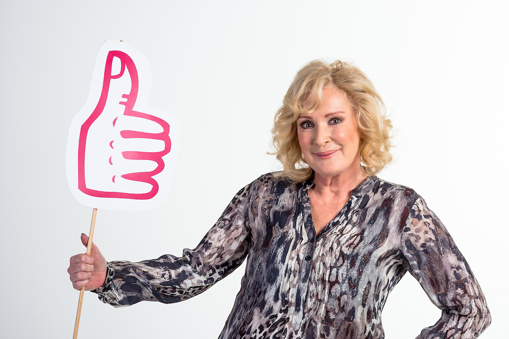 Beverley Callard for Mind Charity. A series of portraits for use in marketing,PR and magazine cover.