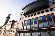 building of the Dutch Pilots Society on Boulevard de Ruyter, Vlissingen, Walcheren, Zeeland, Netherlands.<br /> <br /> Gebaeude der niederlaendischen Lotsen-Gesellschaft am Boulevard de Ruyter, Vlissingen, Walcheren, Zeeland, Niederlande.