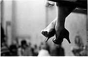 CindyAdams feet.New York © Copyright Photograph by Dafydd Jones<br /> 66 Stockwell Park Rd. London SW9 0DA<br /> Tel 0171 733 01081993. film93314