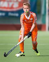 AMSTELVEEN - JOEP TROOST. Oefenwedstrijd tussen het Nederlands Team Jongens B tegen Bloemendaal A1. COPYRIGHT KOEN SUYK