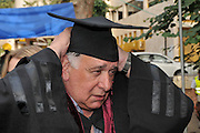 The Doctorate graduation ceremony. Haifa University, Israel May 29th 2013