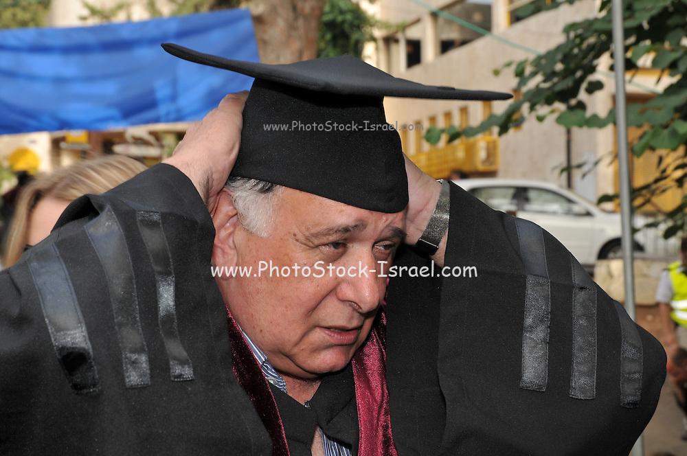 The Doctorate graduation ceremony. Haifa University, Israel May 29th 2013
