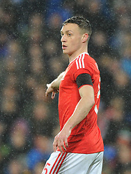 James Chester of Wales - Mandatory by-line: Dougie Allward/JMP - Mobile: 07966 386802 - 24/03/2016 - FOOTBALL - Cardiff City Stadium - Cardiff, Wales - Wales v Northern Ireland - Vauxhall International Friendly