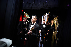 Rami Malek poses backstage with the Oscar® for performance by an actor in a leading role during the live ABC Telecast of The 91st Oscars® at the Dolby® Theatre in Hollywood, CA on Sunday, February 24, 2019.