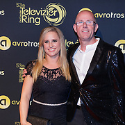 NLD/Amsterdam/20181011 - Televizier Gala 2018, Nicolien Kroon en partner
