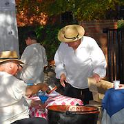 Apple Butter Stirrin at Roscoe Village