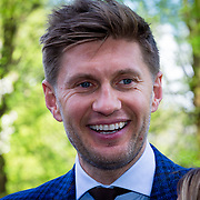 "NLD/Amsterdam/20180426 - L""Homo 2018, Evgeniy Levchenko en partner Victoria Koblenko"