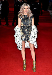 Becca Dudley attending the european premiere of Star Wars: The Last Jedi held at The Royal Albert Hall, London.