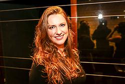 Retrato da joalheira Micherle Weissheimer, do Atelier WEISS, na exposição do projeto Photo-Graphia - que mistura moda, design e fotografia - da fotojornalista Andréa Graiz, que reúne criações exclusivas de doze renomados joalheiros do cenário gaúcho e paulista, com base em estampas feitas a partir de fotografias de Andréa Graiz, no Espaço Criativitá - Escola de Joalheria, de Lisia Barbieri, artista referência em criação autoral. Alice Floriano, Carlos Herrera, Cesar Cony, Cristina Espinosa, Glória Corbetta, Lisia Barbieri, Manoel Diógenes, Nadia da Cunha, Thiago Mateus, Valéria Sá, Viviê Studio e Weiss são os nomes por trás das peças exclusivas e autorais que compõe a exposição. Cada artista buscou na sua essência a inspiração e imprimiu em cada peça uma joalheria autoral - cada joia é o resultado de uma ideia concebida por meio de diferentes caminhos, isto torna cada peça uma verdadeira joia. O objetivo da mostra é criar uma arte única, contemporânea e moderna. O coquetel tem assinatura de Diego Andino Patisserie e Maison Forestier espumantes, com assessoria de comunicação da Re-paginada. (Foto: Agência Preview) © 08NOV17 Agência Preview - Banco de Imagens