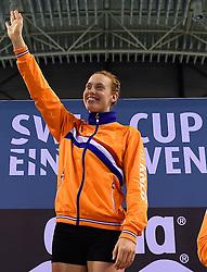 05-04-2015 NED: Swim Cup, Eindhoven<br /> Femke Heemskerk wordt Nederlands kampioen op de 100 meter