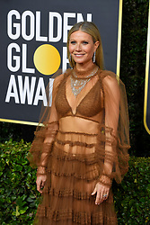 January 5, 2020, Beverly Hills, California, USA: GWYNETH PALTROW during red carpet arrivals for the 77th Annual Golden Globe Awards, at The Beverly Hilton Hotel. (Credit Image: © Kevin Sullivan via ZUMA Wire)