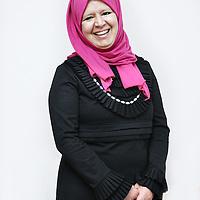 Nederland, Amsterdam , 7 mei 2014.<br /> Amsterdammer van de dag.<br /> Nazha Lemhadi; zij is een van de organisatoren van 'Jezelf kunnen zijn in Oost', een bijeenkomst om met migranten te praten over (homo)seksualiteit.<br /> Foto:Jean-Pierre Jans
