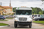 Sunday, March 29, 202,Bus with  Ccngregants  leaving the  Life Tabernacle Church after atteneding a service led by  Pastor Tony Spell  who defied Louisiana Gov. John Bel Edwards shelter-in-place order  despite the coronavirus Pandemic.