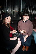 SOLO JAMES; AMANDA CEPERO, The launch screening of ÔAnimal CharmÕ  and ÔSusie LovittÕ - W hotel leicester sq. London. 31 January 2012.<br /> SOLO JAMES; AMANDA CEPERO, The launch screening of 'Animal Charm'  and 'Susie Lovitt' - W hotel leicester sq. London. 31 January 2012.
