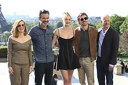 April 26, 2019 - Paris, France - Jessica Chastain - Simon Kinberg - Sophie Turner - Michael Fassbender - Hutch Parker (Credit Image: © Panoramic via ZUMA Press)