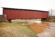 Weaver's Mill Covered Bridge Blue Ball, PA