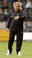 Photo: Leigh Quinnell.<br /> Notts County v Wycombe Wanderers. Coca Cola League 2. 12/08/2006. Notts County manager Steve Thompson keeps up with play.