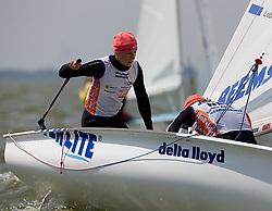 08_003027 © Sander van der Borch. Medemblik - The Netherlands,  May 24th 2008 . Day 4 of the Delta Lloyd Regatta 2008.