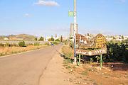 Israel, Jezreel Valley, Sandala an Arab village in the Gilboa Region