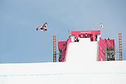 Hiroaki Kunitake, Japan, during the mens snowboard big air qualification at the Pyeongchang 2018 Winter Olympics on February 21st 2018, at the Alpensia Ski Jumping Centre in Pyeongchang-gun, South Korea