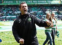 24/05/15 SCOTTISH PREMIERSHIP<br /> CELTIC v INVERNESS CT<br /> CELTIC PARK - GLASGOW<br /> Celtic manager Ronny Deila celebrates