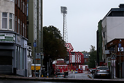 A general view of The City Ground, home of Nottingham Forest - Mandatory by-line: Robbie Stephenson/JMP - 03/10/2020 - FOOTBALL - The City Ground - Nottingham, England - Nottingham Forest v Bristol City - Sky Bet Championship
