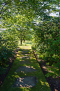 Beautiful gardens and rolling lawns designed by landscape architect Miranda Brooks, Deerfield Rd, Sag Harbor, NY
