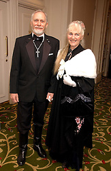 Writer DOUGLAS GRESHAM and his wife MARIE at the 2006 British Book Awards held at The Grosvenor House Hotel, Park lane, London on 29th April 2006.<br /><br />NON EXCLUSIVE - WORLD RIGHTS
