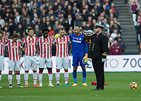 Football - 2016 / 2017 Premier League - West Ham United vs. Stoke City<br /> <br /> <br /> at The London Stadium.<br /> <br /> COLORSPORT/DANIEL BEARHAM