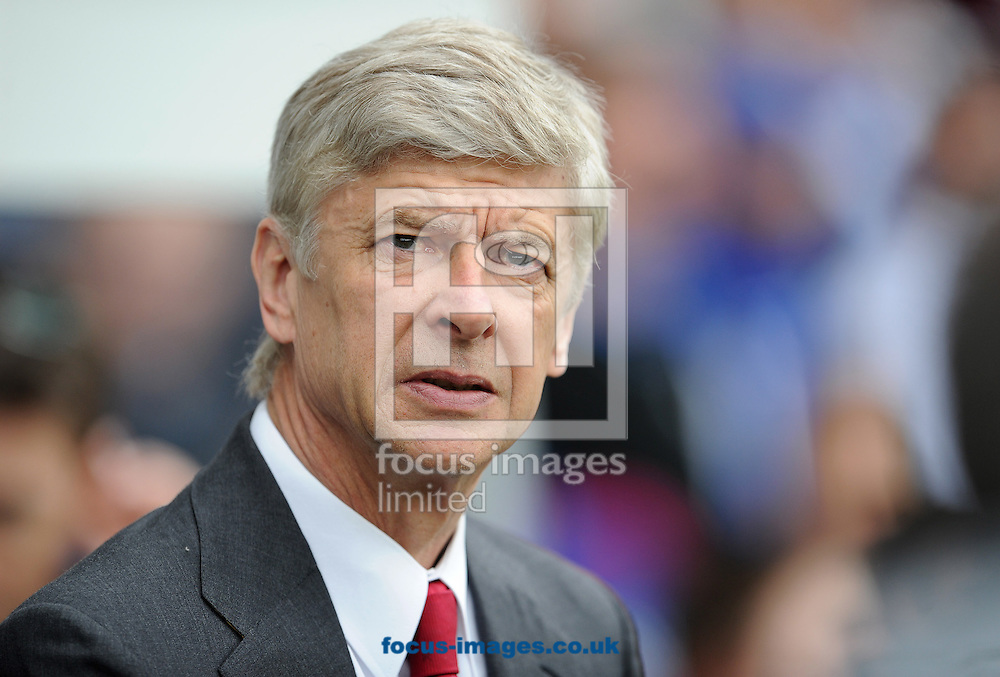 Picture by Andrew Timms/Focus Images Ltd. 07917 236526.31/03/12.Manager of Arsenal Arsene Wenger during the Barclays Premier League match against Queens Park Rangers at Loftus Road stadium, London.