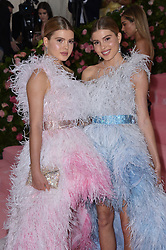 Cristina and Victoria Iglesias attend The 2019 Met Gala Celebrating Camp: Notes on Fashion at Metropolitan Museum of Art on May 06, 2019 in New York City.<br /> Photo by ABACAPRESS.COM