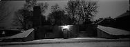 Il forno crematorio di Auschwitz uno dove sono stati condotti gli esperimenti per la costruzione dei forni di Birckenau che arrivarono ad essere 4