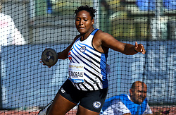 May 31, 2018 - Rome, Italy - Andressa de Morais (BRA) competes in discus throw women during Golden Gala Iaaf Diamond League Rome 2018 at Olimpico Stadium in Rome, Italy on May 31, 2018. (Credit Image: © Matteo Ciambelli/NurPhoto via ZUMA Press)