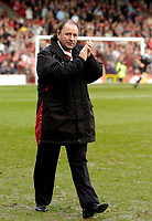Photo: Leigh Quinnell.<br /> Bristol City v Middlesbrough. The FA Cup. 27/01/2007.<br /> Bristol City boss Gary Johnson.