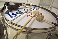 Bolton Wanderers drum set  before the EFL Sky Bet League 1 match between Bolton Wanderers and Coventry City at the University of  Bolton Stadium, Bolton, England on 10 August 2019.